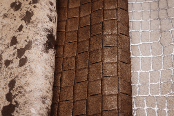 Leathers with fur